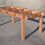 Rafter Table - square leg