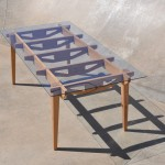 Rafter Table - tapered leg