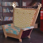 Library reading chair