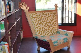 "St. Francis Primary School ""Throne reading chair"""