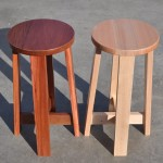 BS1 solid timber bar stool