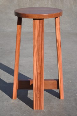BS1 Bar stool - Jarrah