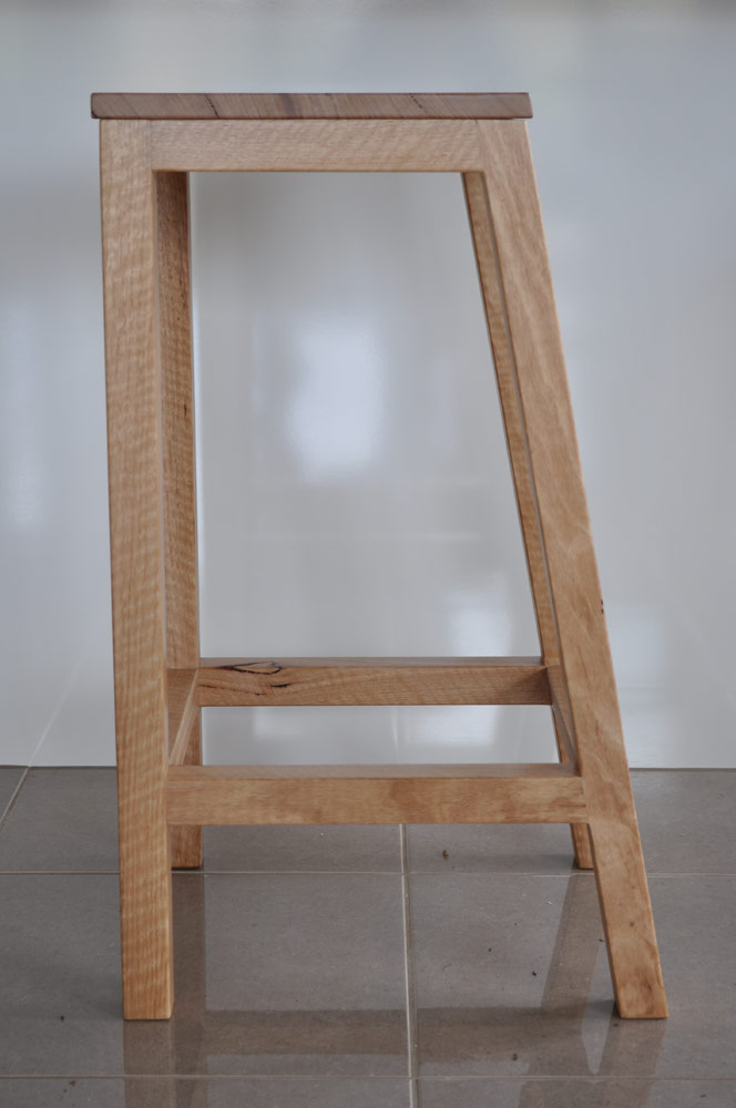 studio hip damien hipwell solid timber bar stool custom  : studio hip damien hipwell solid timber bar stool custom made furniture eco friendly recycled timber Australian furniture15 from studiohip.com.au size 664 x 1000 jpeg 67kB