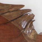Redgum slab bed