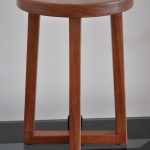 Redgum stool